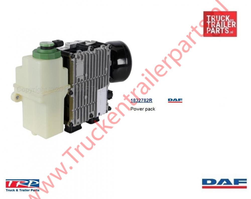 Power pack Tiptronic DAF LF euro6