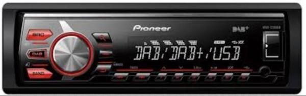 Pioneer  MVH-270DAB  Radio-CD-MP3-Bluetooth