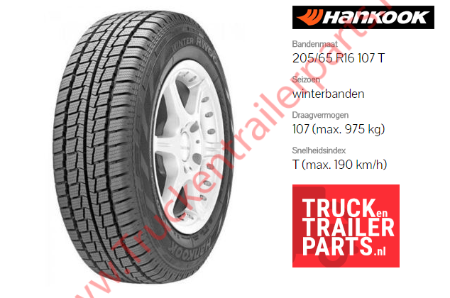 Hankook 205/65 R16 107T Winterbanden