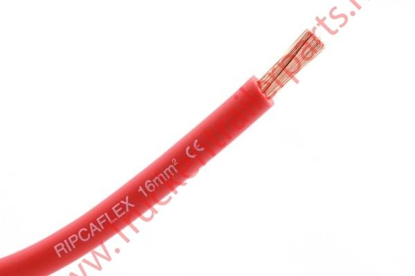 50 mtr Accukabel 16mm rood