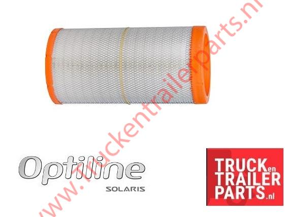 Optiline air filter insert
