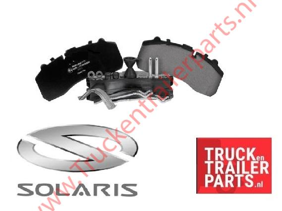 Solaris brake pads