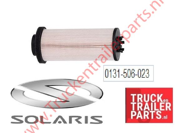 Solaris fuel filter insert