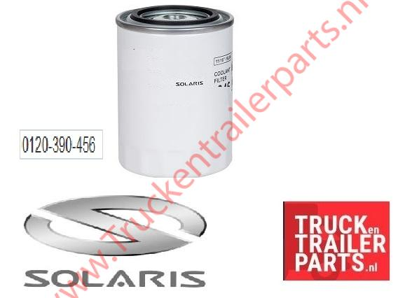 Solaris coolant filter