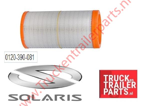 Solaris air filter insert